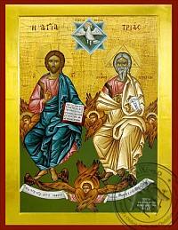 Holy Trinity Byzantine Icon