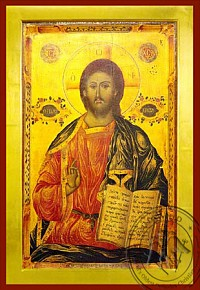 Christ Blessinng, Pantocrator - Byzantine Icon