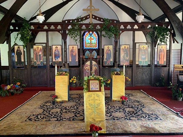 Frontal View of Iconostasis